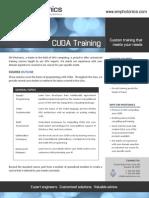 CUDA Training