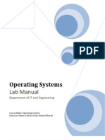 Operating Systems LINUX Lab Manual