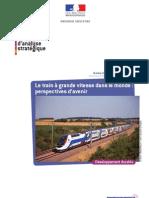 rapport du CAS sur le train à grande vitesse