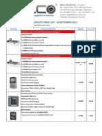 Dooralarm Price List