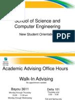 Advising Student Orientation