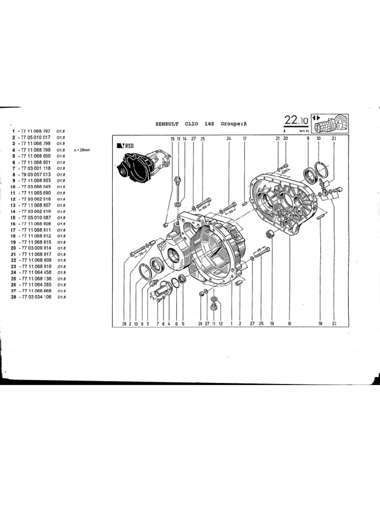 Renault Clio Group a Manual