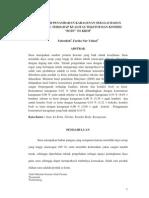 Pengaruh an Karagenan Terhadap Kualitas Tekstur Es Krim