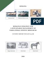 Raport Romania - Resurse Genetice Animale