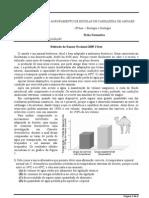 ficha formativa - osmorregulaçao exame 2009 1ªfase