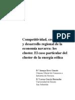 Garces - Competitividad, crecimiento y desarrollo regional de la economía Navarra - los cluster
