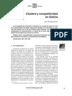 Yuste - Clusters y Competitividad en Galicia