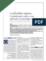 corticóides topicos
