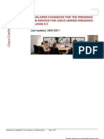 Developer Cookbook for Cisco Unified Presence 8.5