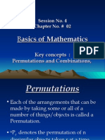 QM- Session #04-Permutations and Combinations