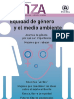 Revistas Unep - Equidade de gênero e Ambiente