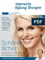 Zahnpraxis Dr. Burger - Journal Nr. 1