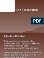 Digital Image Analysis - Edge-Line Detection