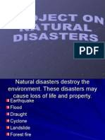Project Natural Disasters