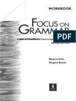 Longman Focus on Grammar Workbook 4. High-Intermediate
