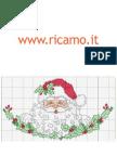 Punto Croce Natale 4 www.ricamo.it