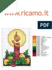Punto Croce Natale 3 www.ricamo.it