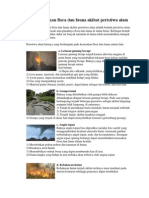 Bentuk Kerusakan Flora Dan Fauna Akibat Peristiwa Alam(2)