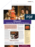 Hindu Festival Diwali Broadsheet Color