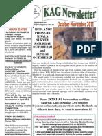 KAG Newsletter Oct-Nov 2011