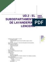2.0 UD2- Lencería y Lavandería