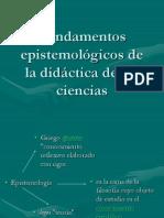Epistemología de la ciencia