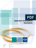 Application Virtualization Smackdown v3