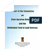 Land Reforms Committee Report Dec 2009
