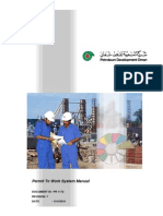 PDO - Permit to Work