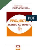 CARTA ABERTA AOS CIDADÃOS PORTUGUESES DOS ADVOGADOS INSCRITOS NO SADT