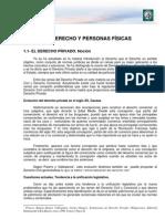 privado 1 Lectura 1.Derecho y personas físicas