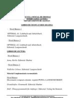 Libros Aleman Curso 2011-2012 Jandia
