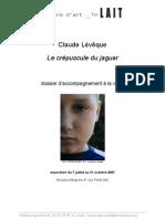 Livret Enseignants Claude Leveque