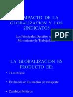 El Impacto Globalizacion Sindicatos