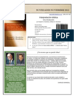 Interpretación biblica por Howard G. Hendricks y  William D. Hendricks