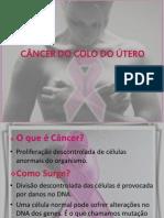 CÂNCER DO COLO ÚTERO