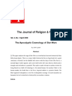 The Apocalyptic Cosmology of Star Wars English