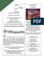 Newsletter 9-30-11