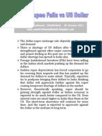 Indian Rupee Falls vs US dollar-VRK100-05Oct2011