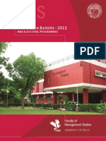 FMS Admission Brochure 2012