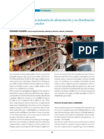 La redefinición de la industria de alimentación y su distribución ante el nuevo consumidor