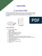 Manual Modem Huawei MT882