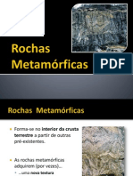 Tema II-Rochas Metamórficas+Ciclo Rochas+Paisagens Geológicas
