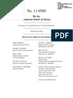 In re Allcat, Defendants' Brief on the Merits (Tex. Oct. 3, 2011)