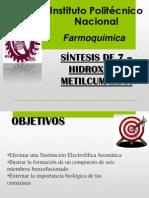 SEMINARIO PRACTICA 8 7 Hidroxi 4 Mrtilcumarina