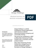 Denga Holdings Company Profile