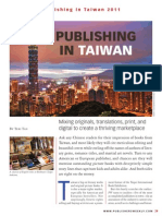Publishing in Taiwan September 2011