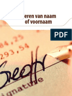 Brochure Naamsverandering