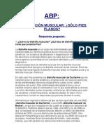 Abp - Distrofia Muscular Resuelto