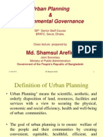 Urban Planning & Environmental Management